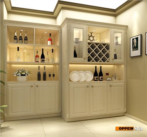 《厨房门带酒柜设计图》 家居装修酒柜设计图 厨房门带酒柜效果图