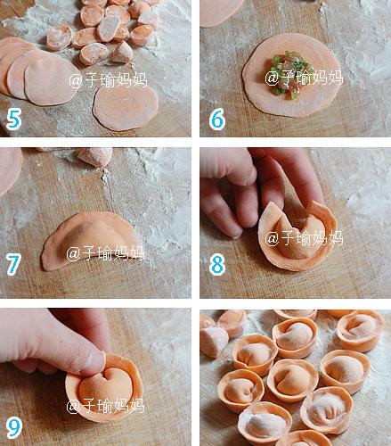 花样饺子的包法图片 16种包饺子的方法 图